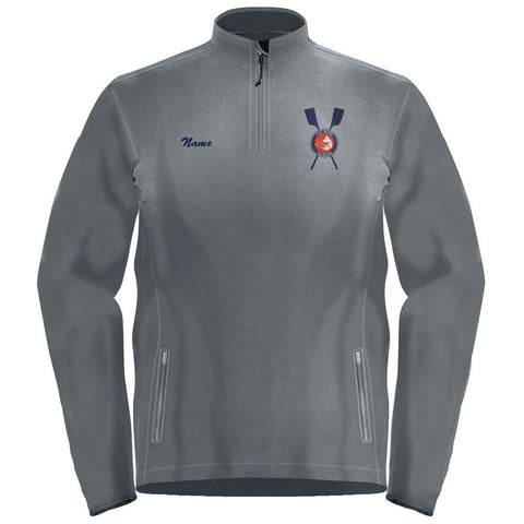 1/4 Zip Fox River Rowing Association Fleece Pullover
