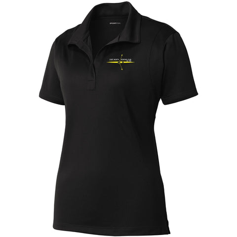 Fort Worth Rowing Club Embroidered Performance Ladies Polo
