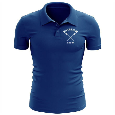Fairfax Crew Embroidered Performance Men's Polo