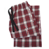 SxS Flannel Pants (Maroon/White)