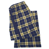 SxS Flannel Pants (Navy/Gold)