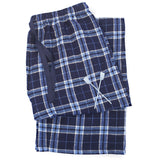 SxS Flannel Pants (Navy/Light Blue)