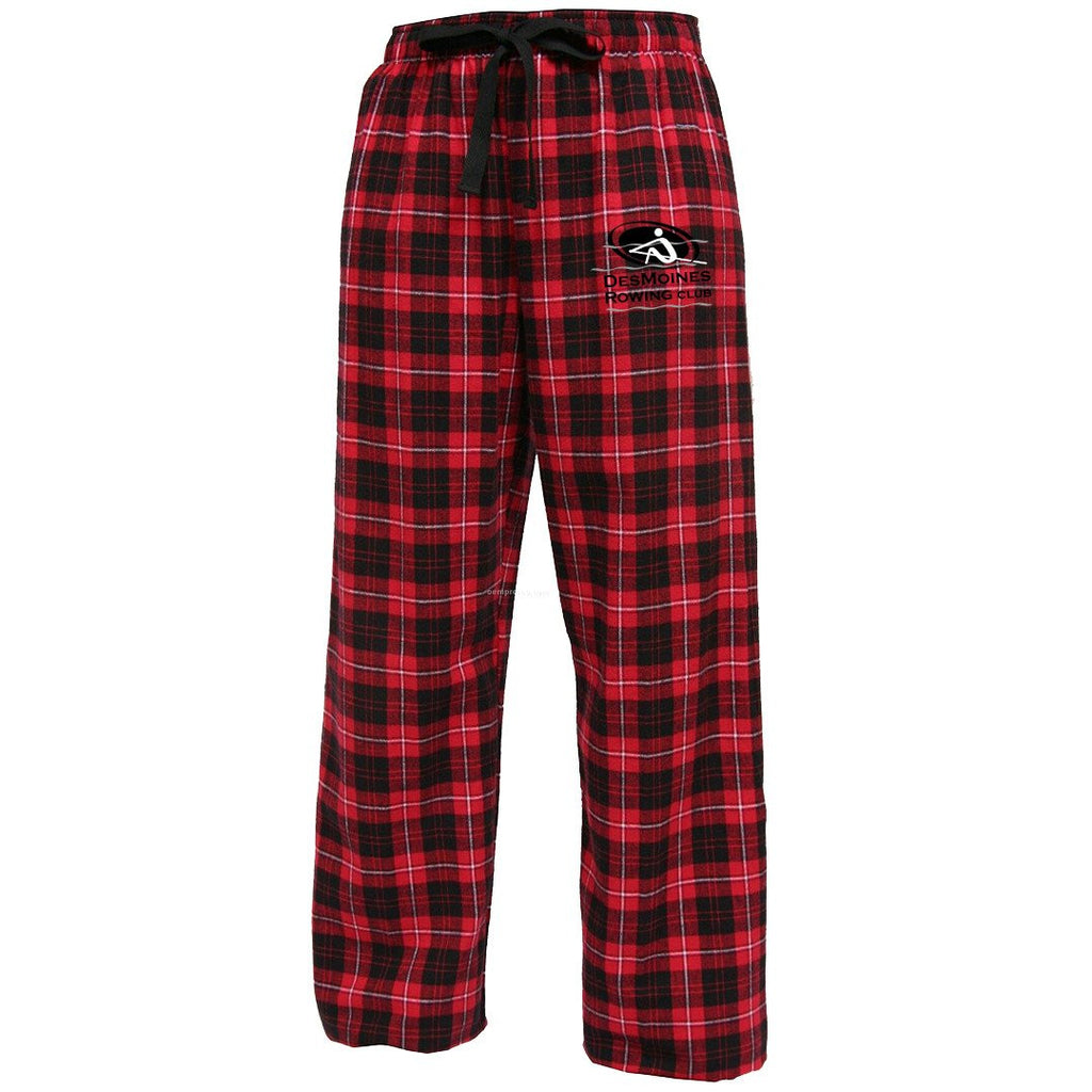 Des Moines Rowing Club  Flannel Pants