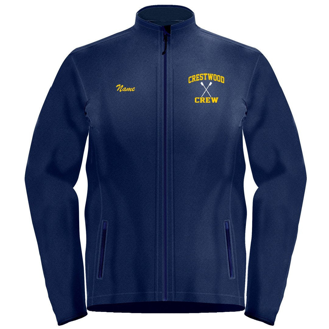 Full Zip Crestwood Crew Fleece Pullover