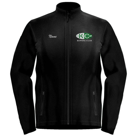 Full Zip Kansas City Rowing Club Fleece Pullover