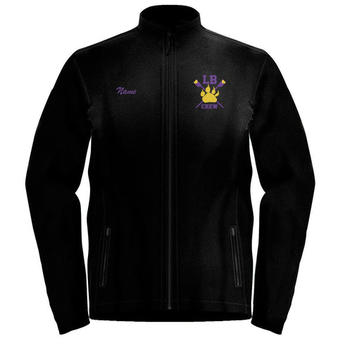 Full Zip Lake Braddock Crew Fleece Pullover