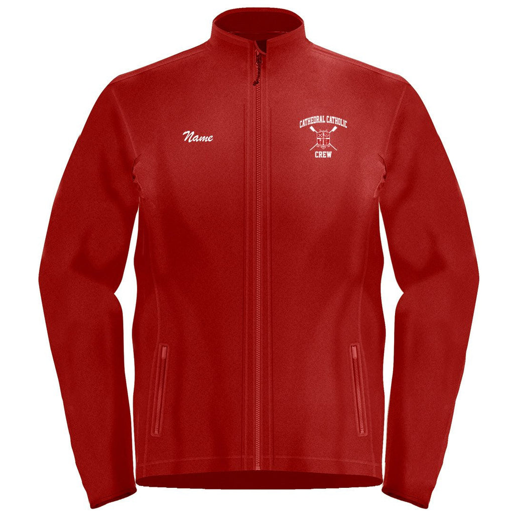 Full Zip Cathedral Catholic Crew Fleece
