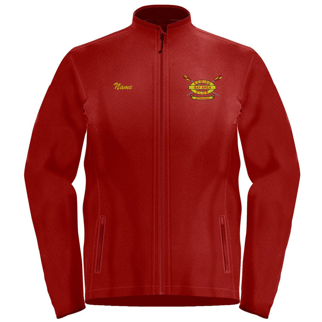 Full Zip Bay Area Rowing Club Fleece Pullover