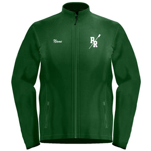 Full Zip Pine Richland Crew Fleece Pullover