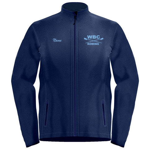 Full Zip Williamsburg Boat Club Fleece Pullover