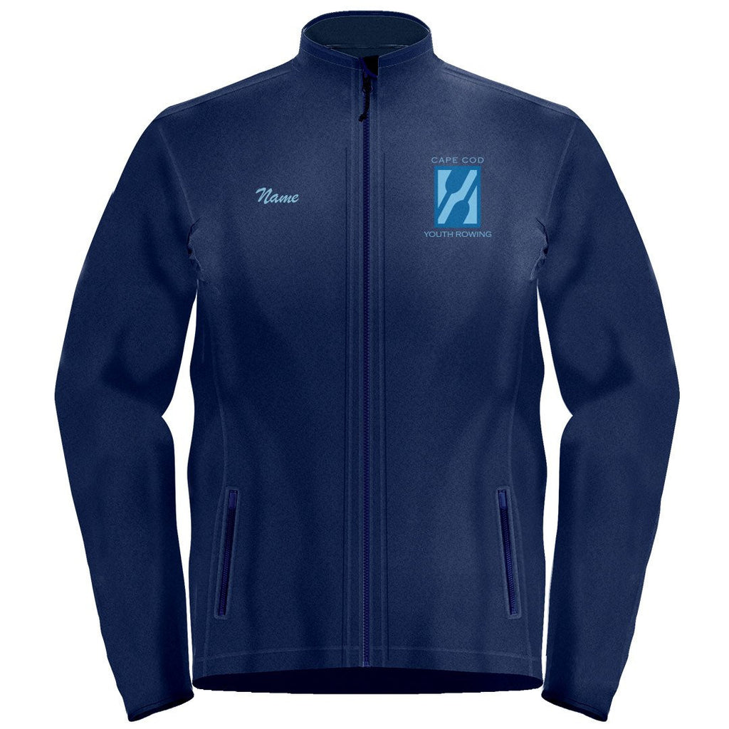 Full Zip Cape Cod Youth Rowing Fleece Pullover