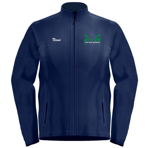 Full Zip East Bay Rowing Fleece Pullover