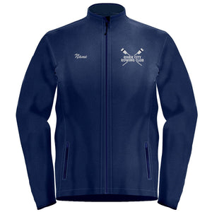 Full Zip  River City Rowing Club  Fleece Pullover