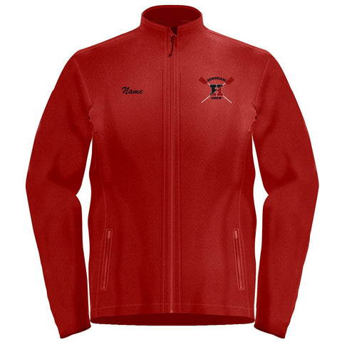 Full Zip Hingham Crew Fleece Pullover