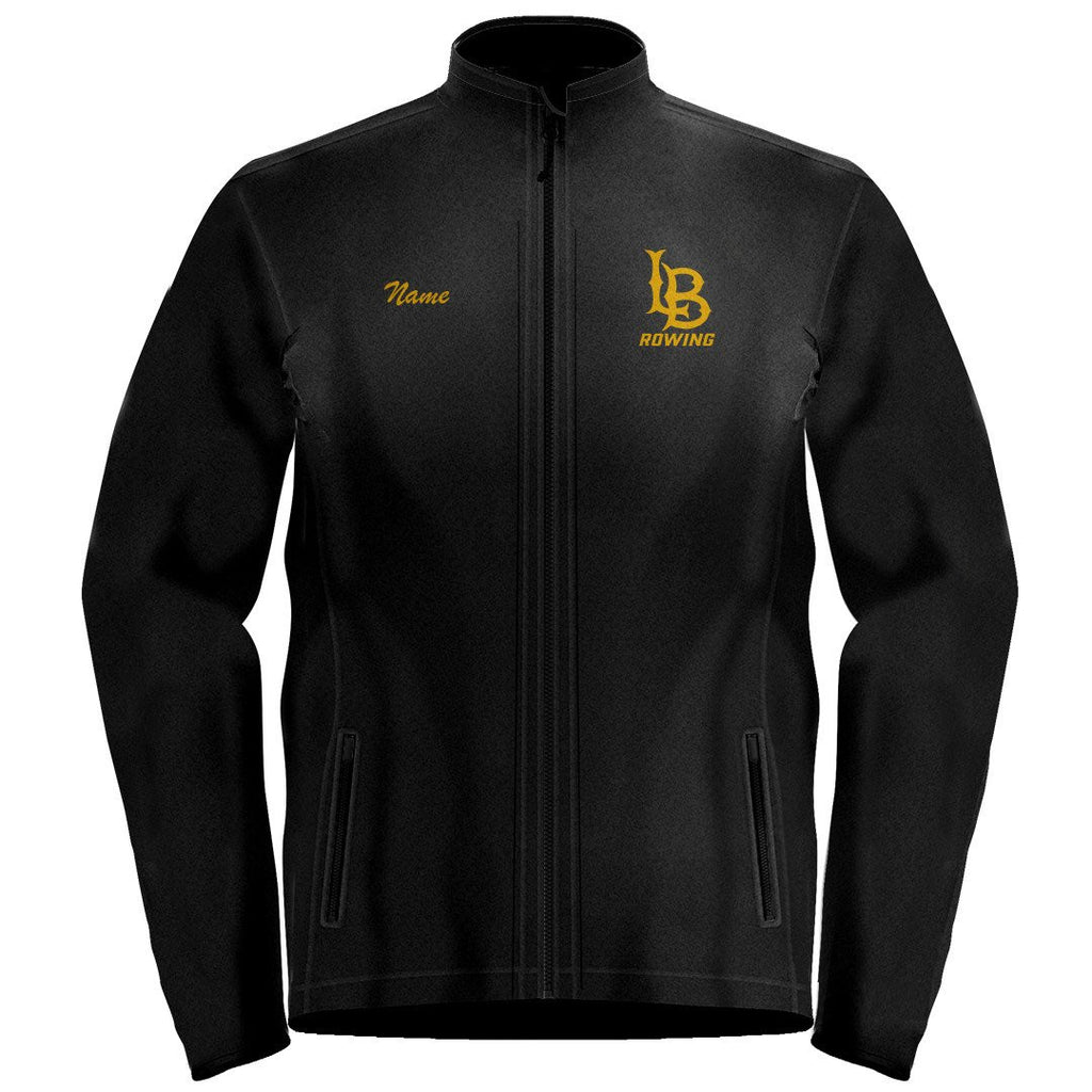 Full Zip Long Beach Rowing Fleece Pullover