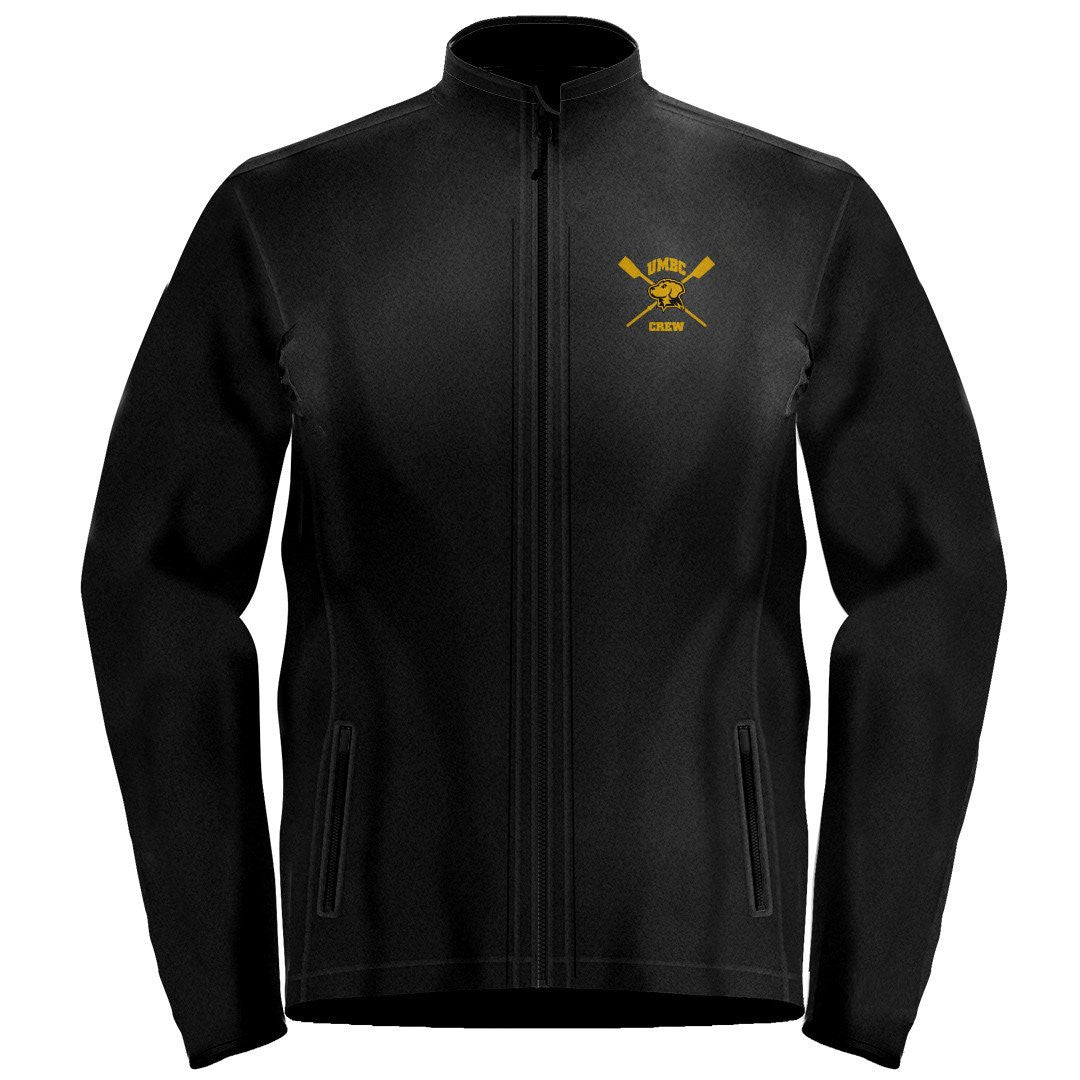 Full Zip UMBC Crew Fleece Pullover