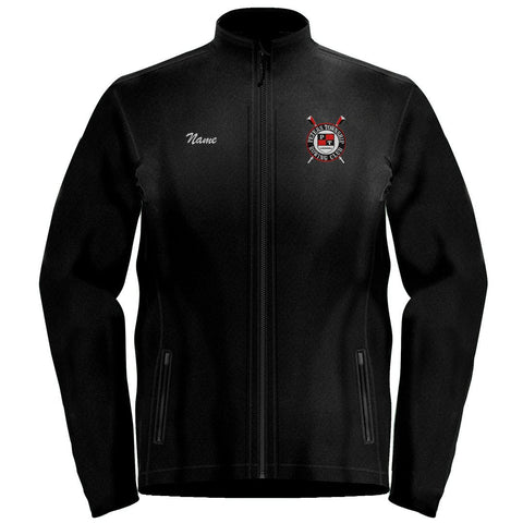Full Zip Peters Township Rowing Club Fleece Pullover