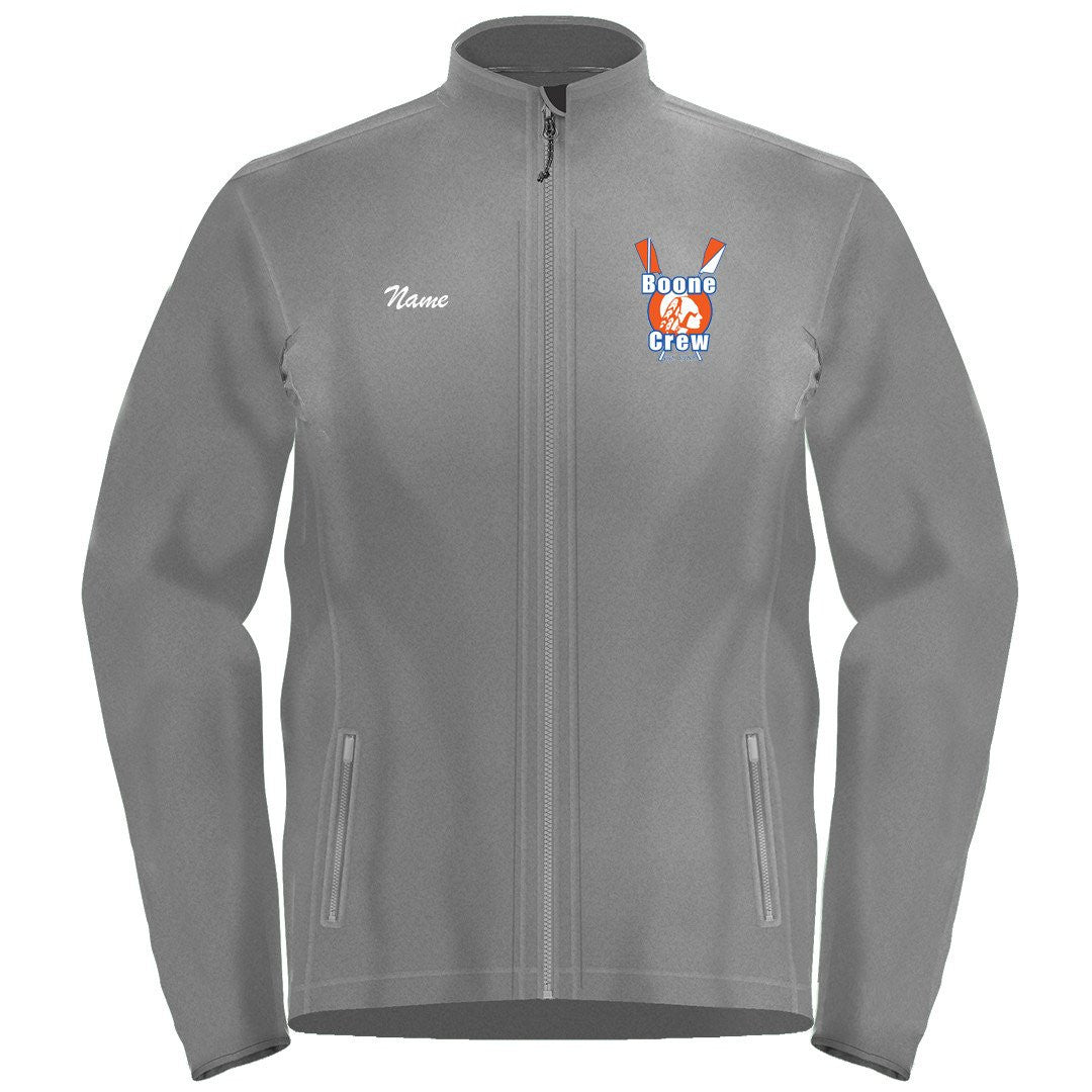 Full Zip Boone Crew Fleece Pullover