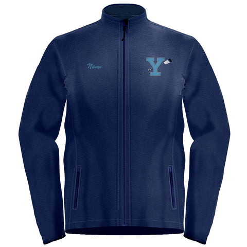 Full Zip Yorktown Crew Fleece Pullover
