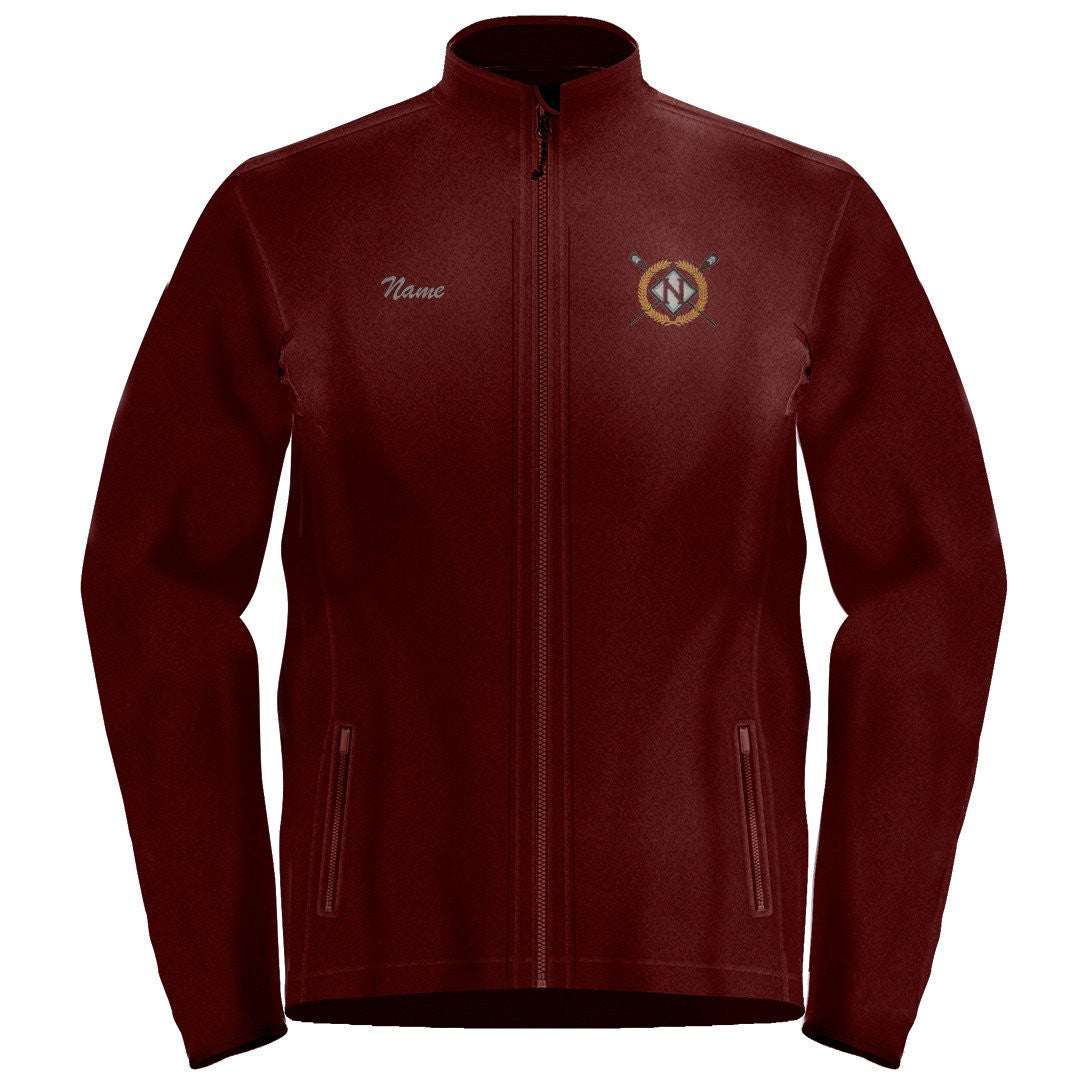 Full Zip Nutley Crew Fleece Pullover