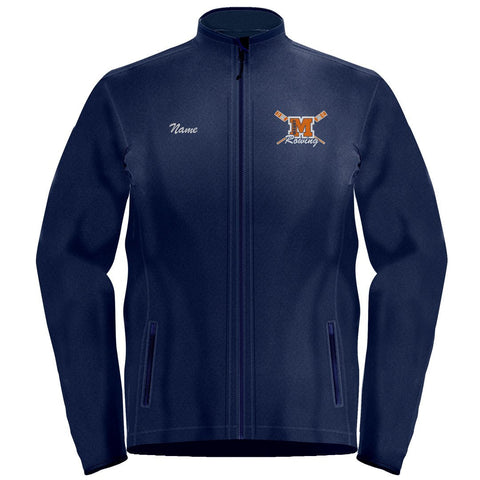 Full Zip Maury Crew Fleece Pullover