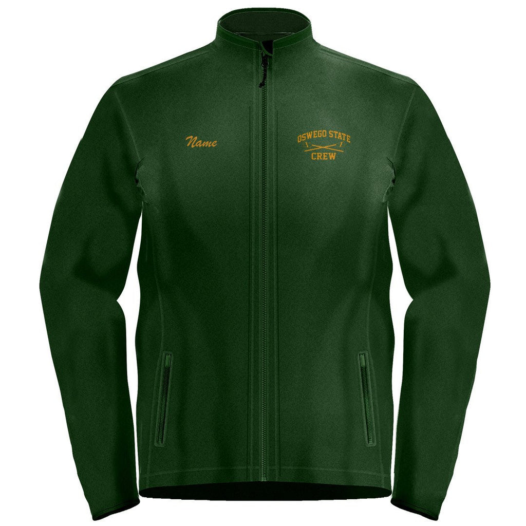 Full Zip Oswego State Crew Fleece Pullover
