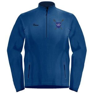 1/4 Zip Girls Prep School Crew Fleece Pullover