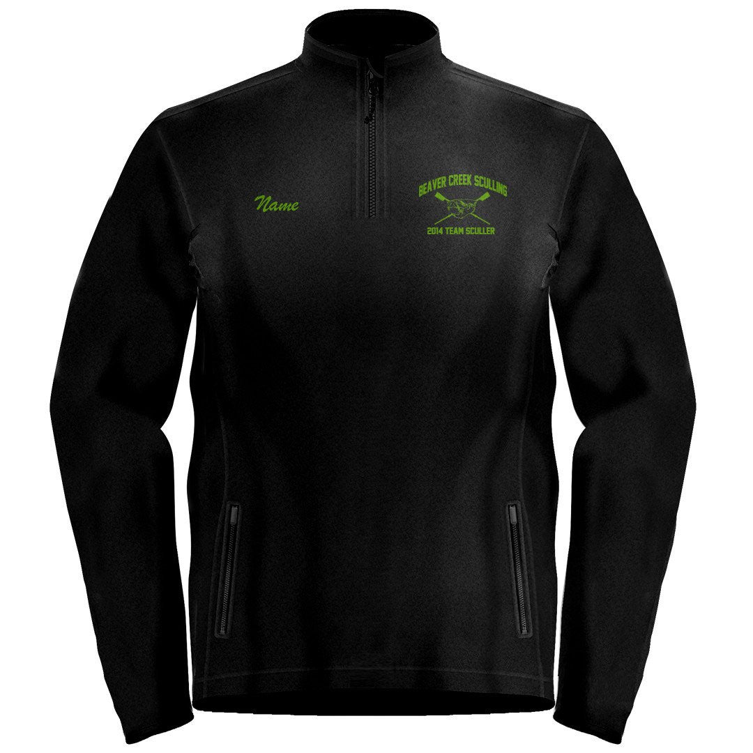 1/4 Zip Beaver Creek Sculling Fleece Pullover