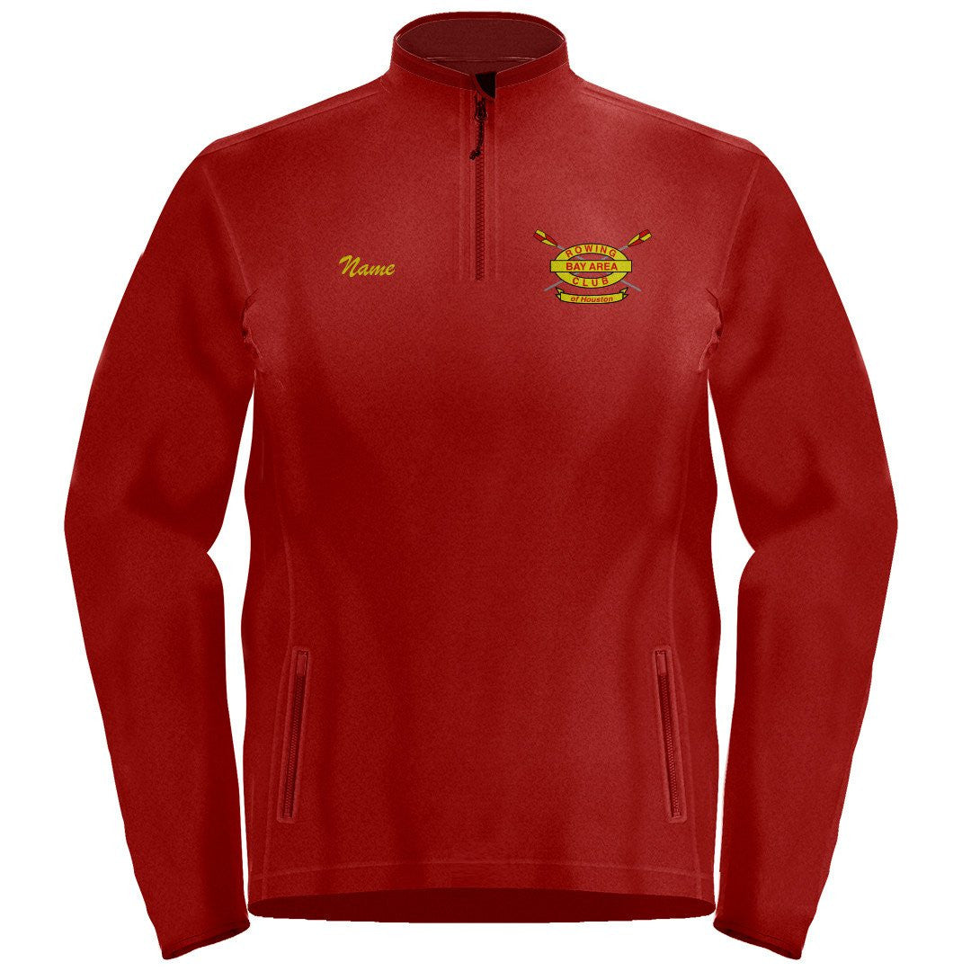 1/4 Zip Bay Area Rowing Club Fleece Pullover