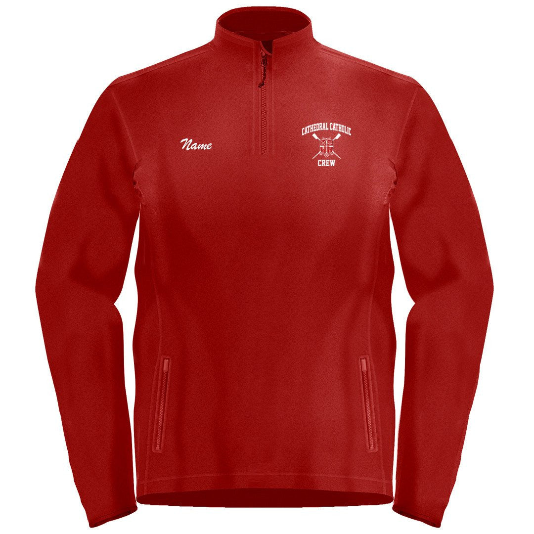 1/4 Zip Cathedral Catholic Crew Fleece Pullover