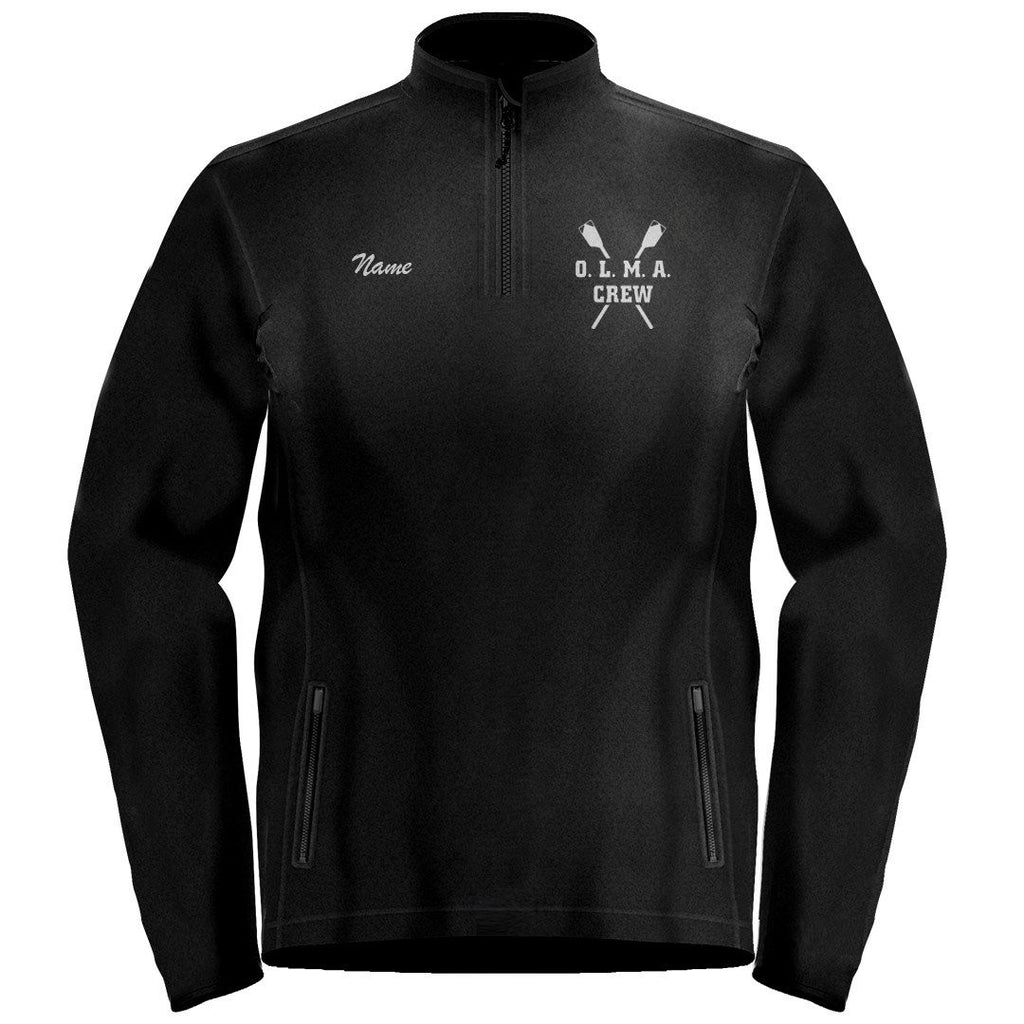 1/4 Zip OLMA Rowing Gear Fleece Pullover