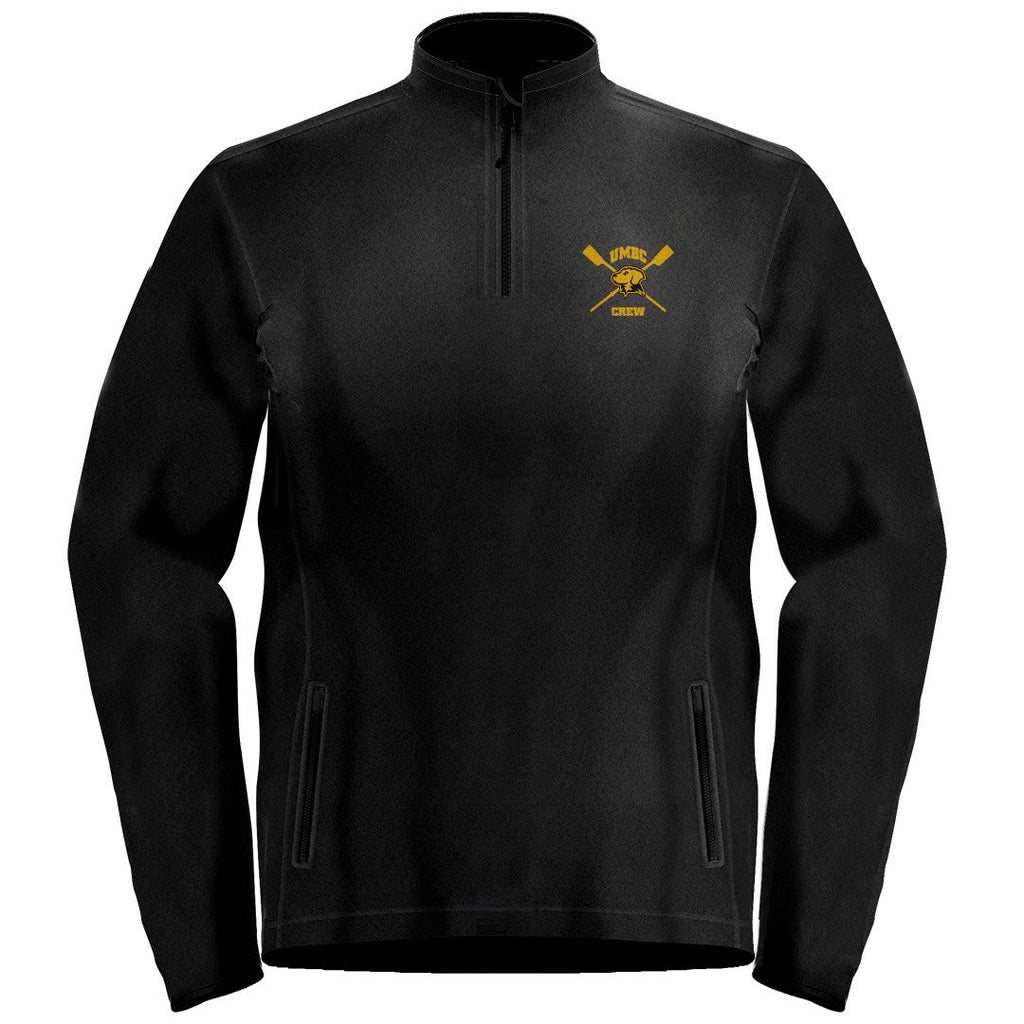 1/4 Zip UMBC Crew Fleece Pullover