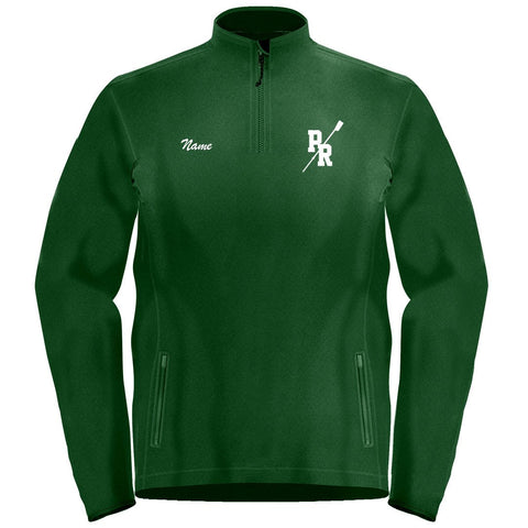 1/4 Zip Pine Richland Crew Fleece Pullover