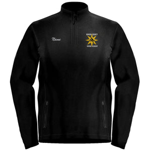 1/4 Zip  Bergen County Rowing Association Fleece Pullover