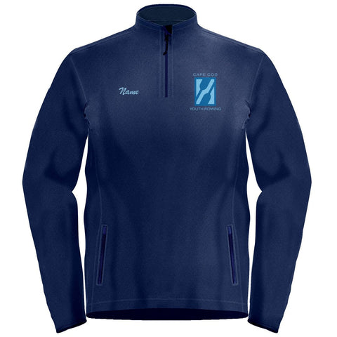 1/4 Zip Cape Cod Youth Rowing Fleece Pullover