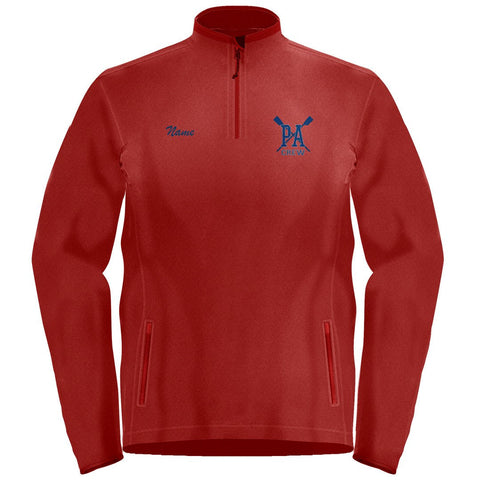 1/4 Zip Princess Anne Crew Fleece Pullover