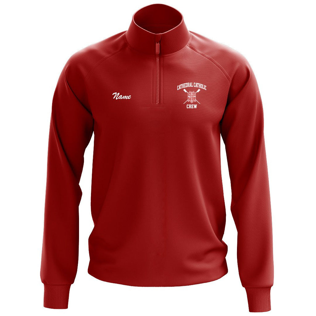 Cathedral Catholic Crew Mens Performance Pullover