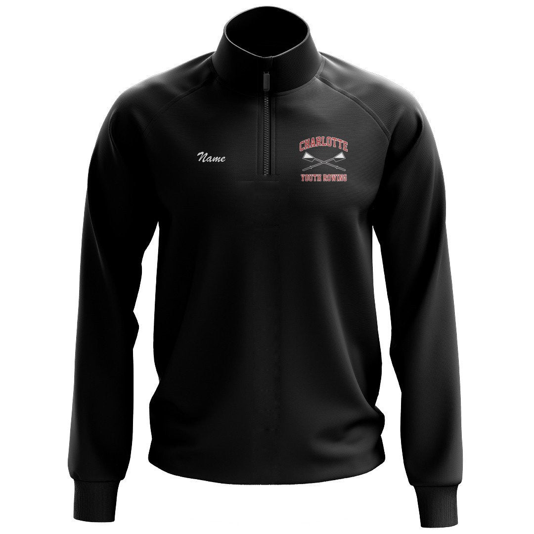 Charlotte Youth Rowing Club Mens Performance Pullover