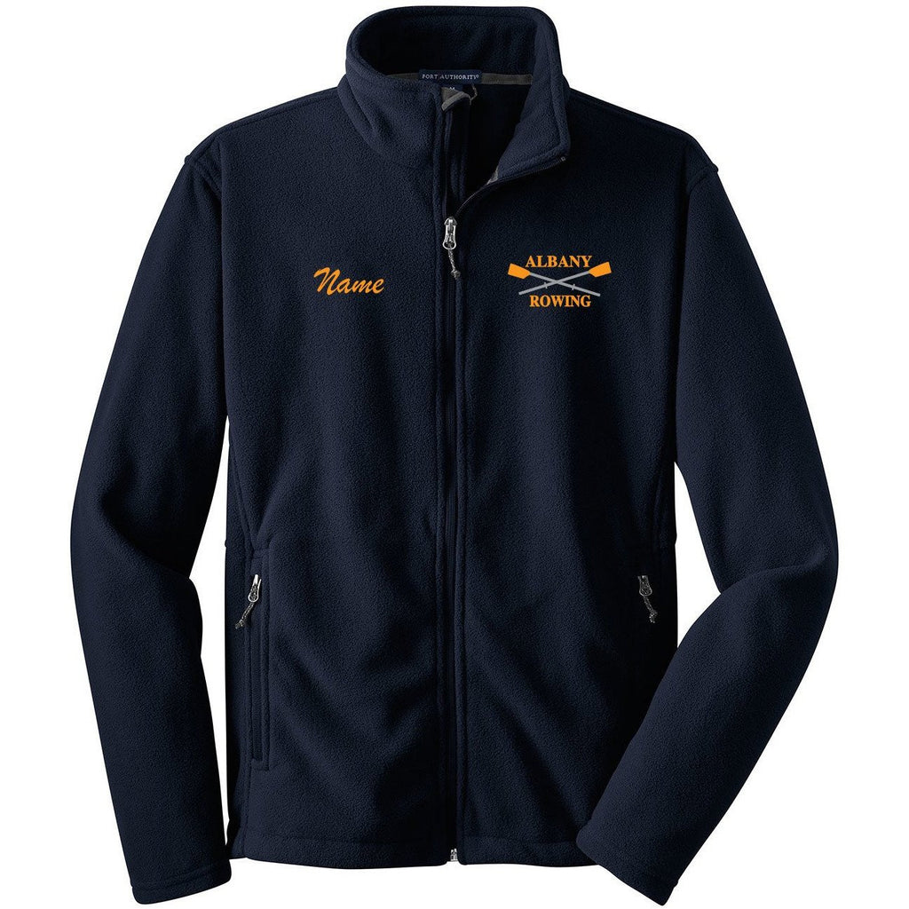 Full Zip Albany Rowing Center Fleece Pullover
