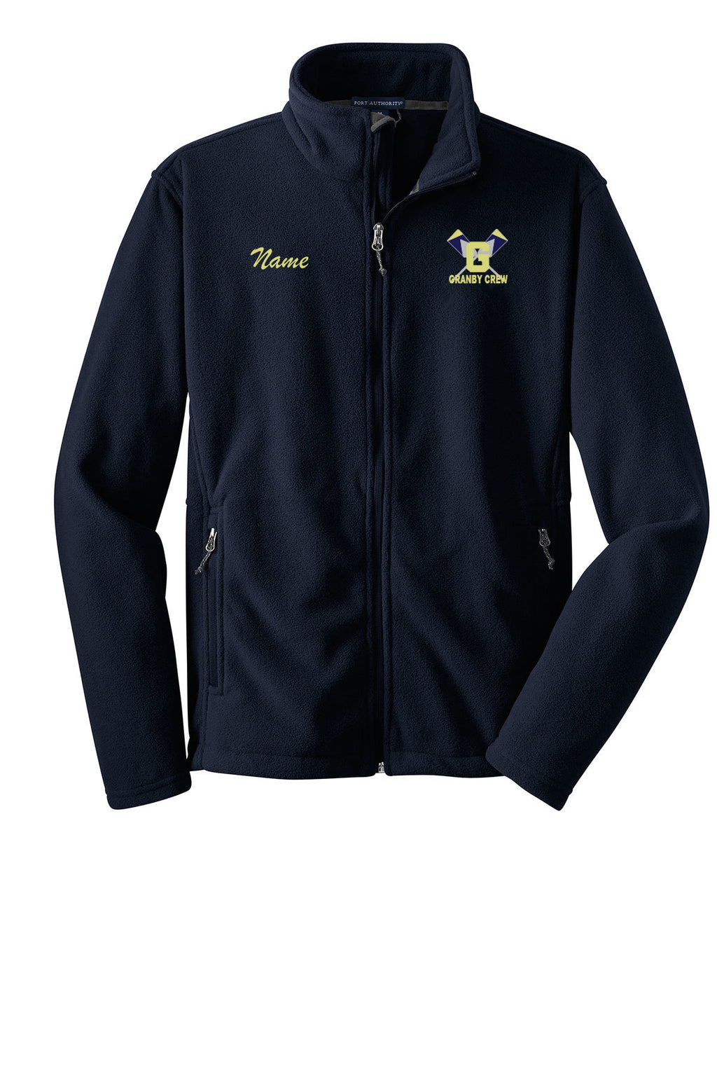 Full Zip Granby Crew Fleece Pullover