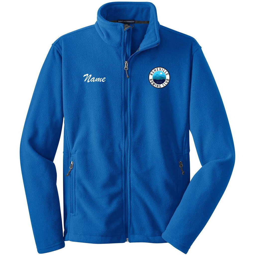 Full Zip Asheville Rowing Club Fleece Pullover