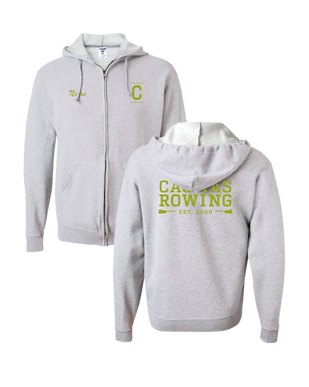 50/50 Hooded Casitas Rowing Pullover Sweatshirt