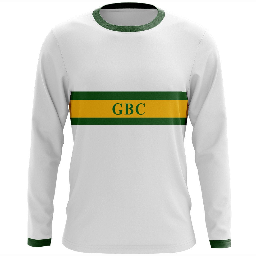 Custom Great Bridge Crew Long Sleeve Cotton T-Shirt - Striped