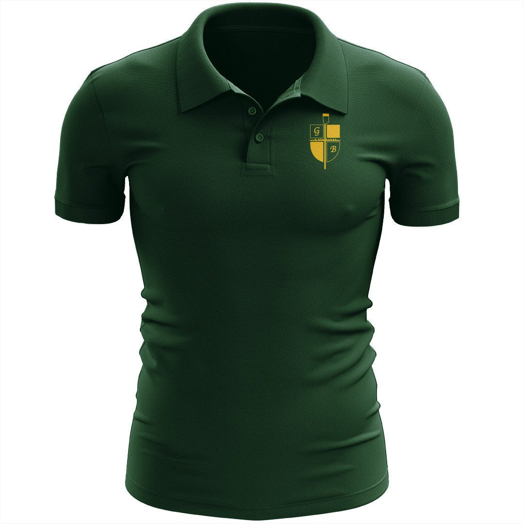 Great Bridge Crew Embroidered Performance Men's Polo