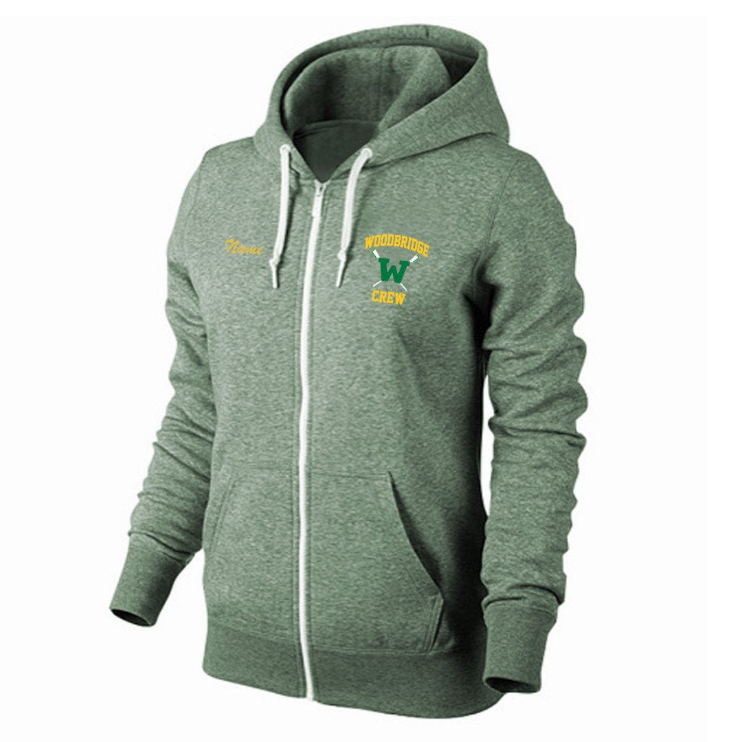 Woodbridge heathered girls Zip Hoodie Sweatshirt