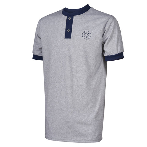 SxS Cotton Henley (Grey)