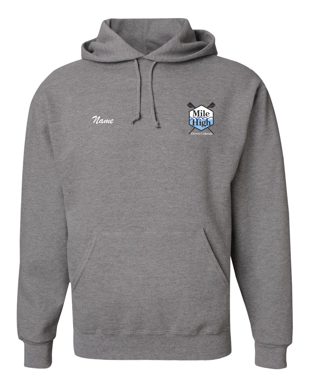 50/50 Hooded Mile High RC Pullover Sweatshirt
