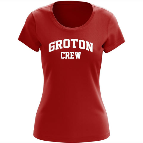 100% Cotton Groton Crew Women's Team Spirit T-Shirt