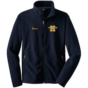 Full Zip Hackensack Crew Fleece Pullover