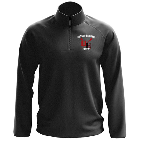 1/4 Zip Hatboro Horsham Crew Fleece Pullover